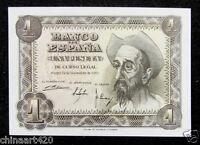 Spain 1 Peseta BANKNOTE 1951 UNC
