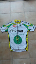 Maillot cyclisme PHONAK CASTELLI TAILLE M