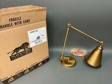 Savoy House Waucoba 1-Light Adjustable Sconce In Warm Brass #9-961CP-1-322