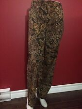 CATHERINES SECRET SLIMMER Women's Green Classic Pants - Size 18W - NWT $69