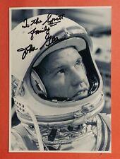 "Astronaut John Glenn Signed Photo 5""x7.25"""