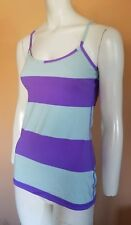 Lululemon Athletic Workout Tennis Running Tank Top Sports Bra Shirt Women's SZ 6