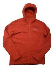 EUC Arc'teryx Kyanite Hoody Hoodie Men's Burnt Orange Size Large