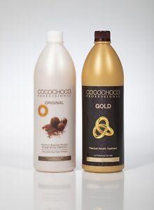 COCOCHOCO professional - Gold 1000ml + Original 1000ml KERATIN TREATMENTS