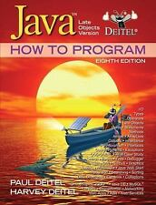 Java How to Program: Late Objects Version (8th Edition), Deitel, Paul, Good Book
