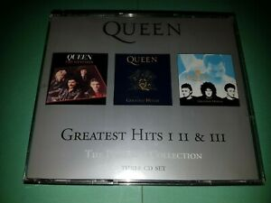 QUEEN - Greatest Hits I II & III (The Platinum Collection) - CD IN VGC