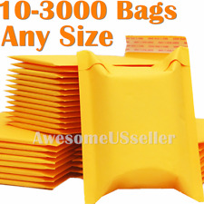 Kraft Mailer Bubble Bags Mailers Padded Envelope Paper 6x9 9x12 5x7 3x5 Shipping