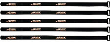 Apex RC Products 16mm X 400mm Lipo Battery / Camera Straps - 5 Pack #3042