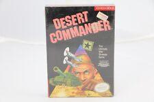 Desert Commander Nintendo NES NEW Factory Sealed