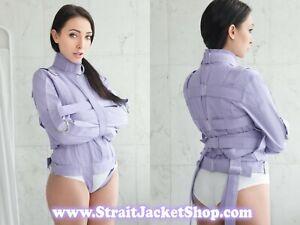 Purp Straitjacket - Restraining Straight Jacket ABDL Bondage Device High Quality