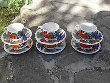 acapulco villeroy&boch six tasses et sous tasses