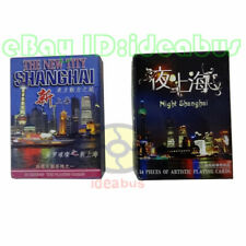 Deck of China largest modernest city-Today's Shanghai & Night Playing card/Poker