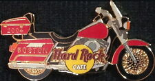 Hard Rock Cafe BOSTON 2004 BIKE NIGHT Red Harley PIN MOTORCYCLE - HRC #23784