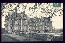 cpa Ecrite en 1909 JOUARRE (Seine et Marne) CHÂTEAU PERREUSE Façade Arrière