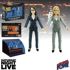SNL Weekend Update Tina and Amy 3 1/2-Inch Action Figures NEW