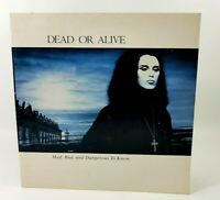 Dead Or Alive Mad Bad And Dangerous To Know Vinyl LP/Album Record 1986