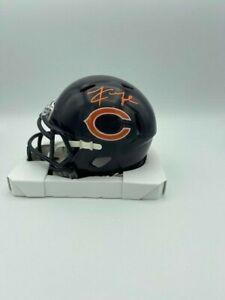 Khalil Mack Signed Chicago Bears Speed Mini Helmet COA Hologram