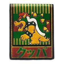 Nintendo Super Mario Bros.Bowser Kanji Doppelt Faltbar Etui Grün (MW1PX3SMB)