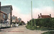 Punnetts Town near Heathfield. North Street # 410 by W.Brooker, Eastbourne.