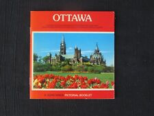 OTTAWA PICTORIAL BOOKLET - TRAVEL SOUVENIRE WITH DETAILED MAP - JOHN HINDE - NEW