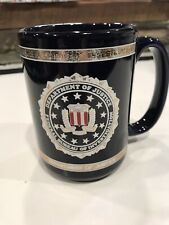 FBI Department of Justice Heraldry of the Seal  Coffee Mug Cup Federal Bureau