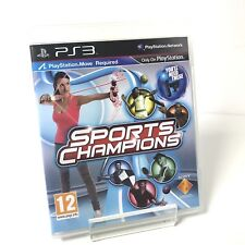 Sports Champions PS3 Playstation 3 Move FREE UK Post PAL Move Required Game