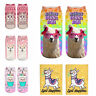 Unisex Llama Pattern Socks Polyester Hosiery Ankle Spring Fashion Gifts Acces