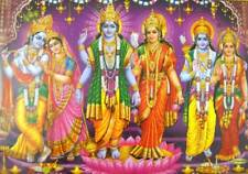 "Avtaars of Lord Vishnu / Hindu God Poster - (Unframed Size 21 ""X 31""Inches) 6996"
