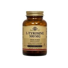 Solgar, L-Tyrosine 500 mg Vegetable Capsules , 50