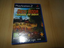 PS2 Desi Adda Games of India , UK Pal Brand New  Sony Factory Sealed