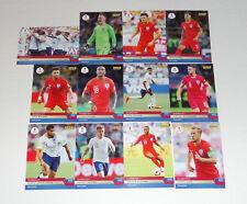 ENGLAND ADVANCES 2018 WORLD CUP PANINI INSTANT 12 CARD FOOTBALL TEAM SET #253-64
