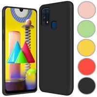 Hülle für Samsung Galaxy M31 Handy Schutz Cover Silikon Case Handyhülle Tasche