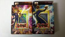 Yugioh 1st Ed. Yugi & 1st Ed. Kaiba Factory Sealed Starter Decks New Mint!