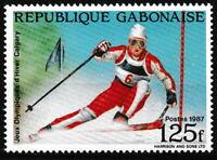 Gabun - Olympische Winterspiele Calgary postfrisch 1988 Mi. 1000