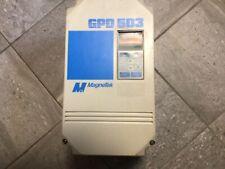 Magnetek 3 Ph Ac Drive Gpd503 Ds317 Spec 47p51 380 460v 15 Hp Used