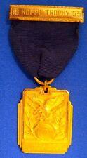SNIPER MATCH 1955 HOPPE TROPHY RIFLE Competition Badge GOLD  FRANK HOPPE #9 DCM