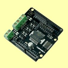 Motor Driver Shield for Arduino Uno and Compatibles for building Robots - L298P