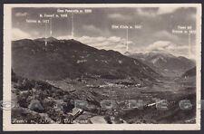TRENTO LEVICO TERME 42 VALSUGANA Cartolina FOTOGRAFICA viaggiata 1954