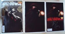 SHADOW NOW COMIC 1 VARIANT COVER PLUS BOTH REGULAR COVERS ONE SIGNED BY ARTIST