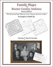 Family Maps Boone County Indiana Genealogy Plat History