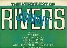 "JOHNNY RIVERS - THE TRÈS BEST OF 12"" LP (b222)"