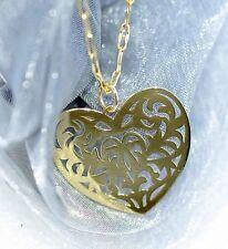 ♥ HERZ ♥ ANHÄNGER  KETTENANHÄNGER  750 GOLD 18 KT  MASSIV  NEU  super Geschenk !