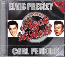 ELVIS PRESLEY - CARL PERKINS  on 2 CD's - NEW -