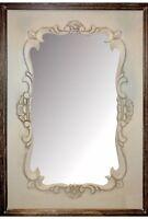 Shabby Country Chic Cream Ornate Bathroom Bedroom Wall Mirror Home Decor
