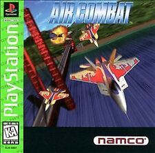 Air Combat (Sony PlayStation)ps2 ps3 Black Disk!F15 F22 MIG 17level Namco Bandai
