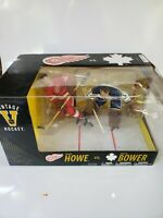 Mcfarlane NHL 2PK Gordie Howe vs Johnny Bower Maple Leafs Vs Red wings
