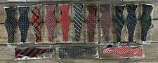 Lot of 14 New In Package Self Tie Adjustable Bow Ties
