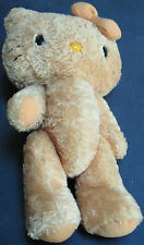 Vintage Plush Stuffed Hello Kitty Doll With Movable Arms & Legs