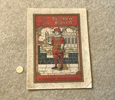 More details for 1909 the yeoman of the guard londesborough theatre scarborough programme #scar