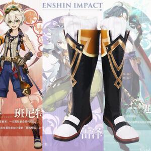 Bennett Genshin Impact Cosplay Kostüm Costume Schuhe Shoes Stiefel Boots